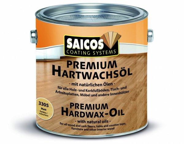 Wosk Twardy Olejny Premium Saicos 3200 opak. 2,5 L SATYNOWY MAT