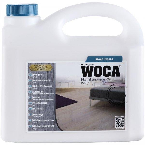 Woca Maintenance Oil olej pielęgnacyjny (opak. 1L, kolor biały)