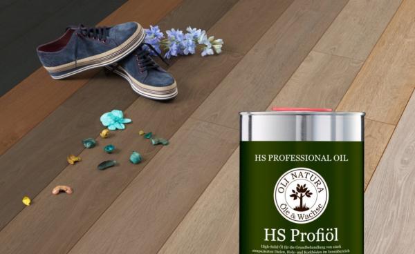 Profesjonalny olej do podłóg  Profiöl High-Solid Oli Natura 1 L BARRIQUE
