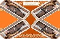 Idealny na grzybobrania - scyzoryk Opinel dla grzybiarzy No 08 z etui