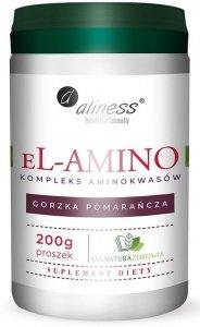 Aliness eL-amino  Kompleks aminokwasów, pomarańcza, proszek 200 g