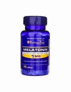 Melatonin 1 mg 90 tabs Puritan's Pride