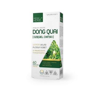 Medica Herbs Dong Quai (Dzięgiel chiński)