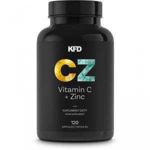 KFD Vitamin C + Zinc 120 kaps.