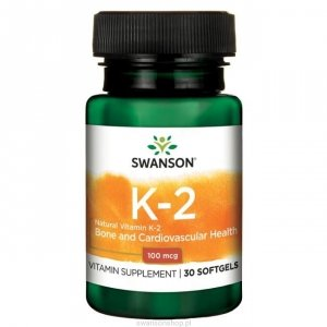 Swanson Witamina K2 naturalna 30 kaps