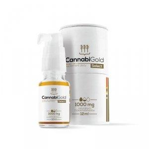 HemPoland CannabiGold Select 1000 mg, 12 ml