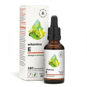 Aura Herbals Witamina E - krople (30ml)