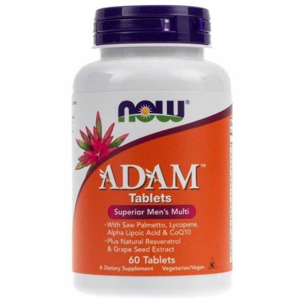 Now Foods ADAM (multiwitaminy dla mężczyzn) - 60 tabletek