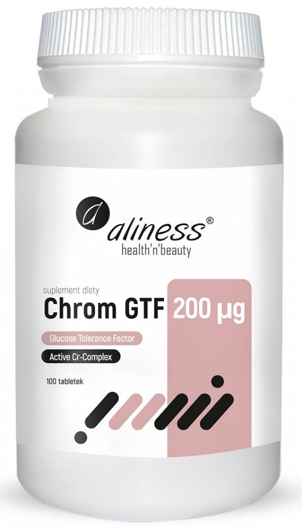 Chrom GTF Active Cr-Complex 200 µg Aliness