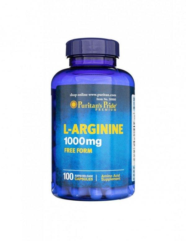 L-Arginine 1000mg 100caps Puritan's Pride
