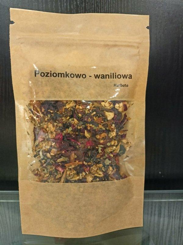 Vivio  Herbata poziomkowo-waniliowa 50g