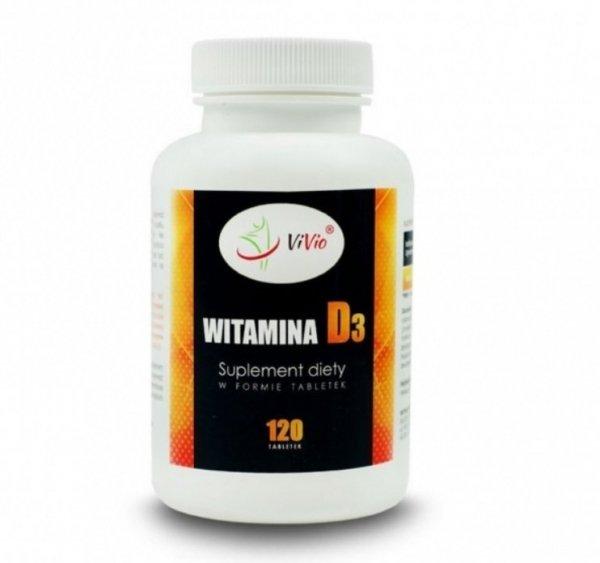 ViVio Witamina D3 120 tab 2 000 UI D045