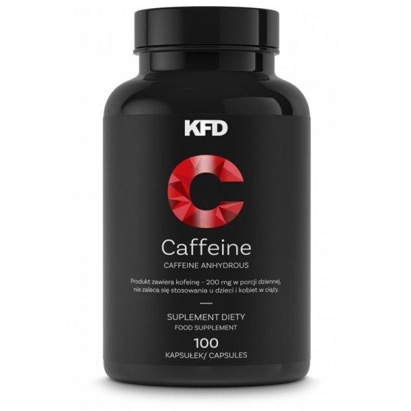 KFD Caffeine 100 kaps. (Kofeina bezwodna)