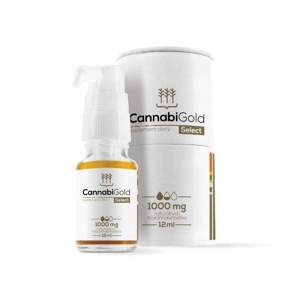 HemPoland CannabiGold Select 1000 mg, 12 ml. Gdzie kupić CBD?