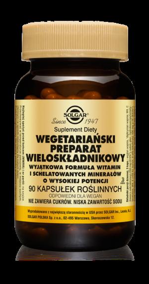 Solgar Wegetariański Preparat Wieloskładnikowy