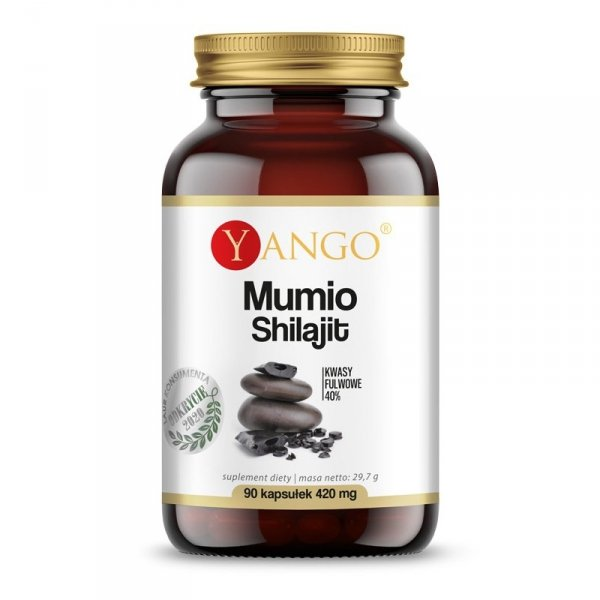 Yango Mumio Shilajit 90 kaps witalnosć i odporność