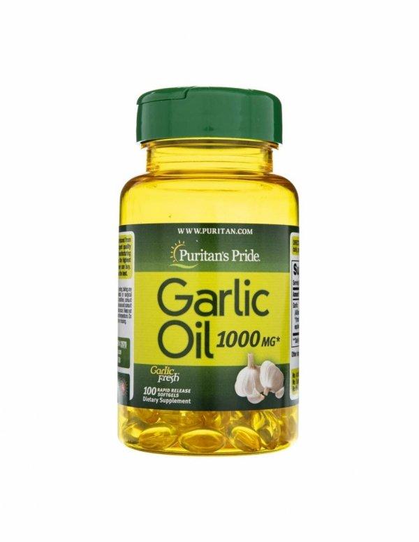 Garlic Oil 100x1000mg Puritan's Pride