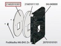 KOSTRZEWA Izolacja drzwiczek przód 10mm Mini Bio 10 kW