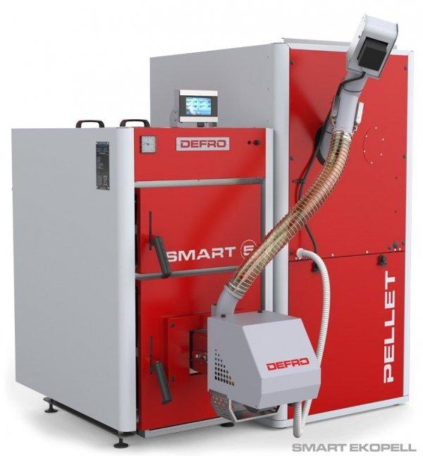 KOCIOŁ PIEC DEFRO Smart EKOPell 20 kW