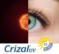Soczewki okularowe Orma 1.5  z antyrefleksem Crizal Sapphire UV