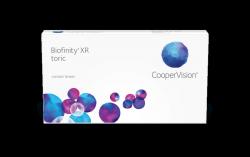 Soczewki miesięczne Biofinity Toric XR
