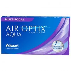 Air Optix Aqua Multifocal  - 3 sztuk