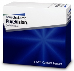 Soczewki miesięczne PureVision 6 szt