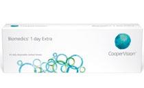 Soczewki jednodniowe Biomedics 1 Day Extra 30 szt.