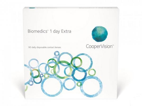 Soczewki jednodniowe Biomedics 1 Day Extra 90 szt.
