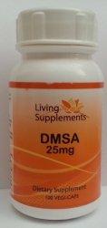DMSA 25mg  90 kapsułek - chelatacja chelacja rtęci ołowiu