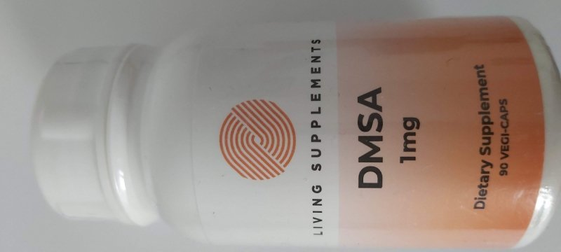 DMSA 1 mg  90 kapsułek - chelatacja chelacja rtęci ołowiu