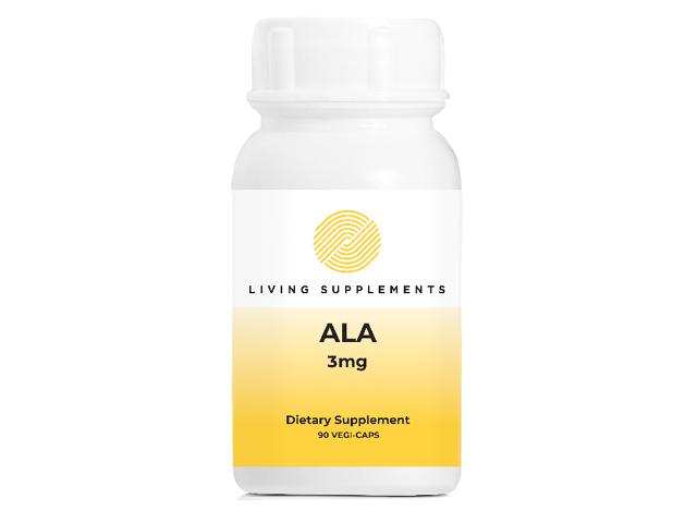 Kwas alfa liponowy ALA 3 mg - 90 kapsułek Alpha Lipoic Acid
