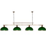 Żyrandol mosiężny JBT Stylowe Lampy WZMB/W34/4ŚD/50080
