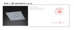 Wpust halogenowy  Fasto I LED Orlicki Design