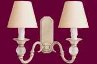 Kinkiet mosiężny JBT Stylowe Lampy WKMB/90325/2MB