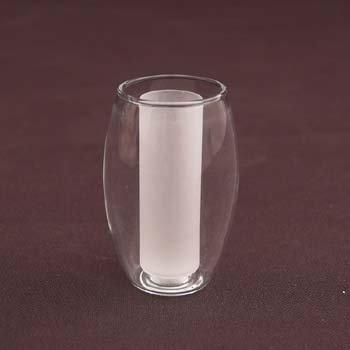 Klosz szklany halogen lampa kinkiet G4