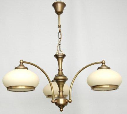 Żyrandol mosiężny JBT Stylowe Lampy WZMB/W63Z/d3/4268