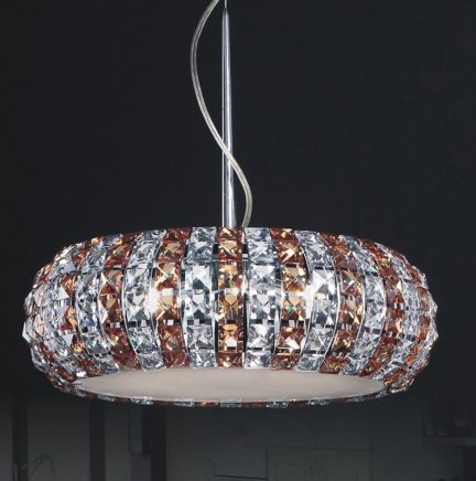 Lampa wisząca, lampa sufitowa Italux Monde P0109-06E-F4RK