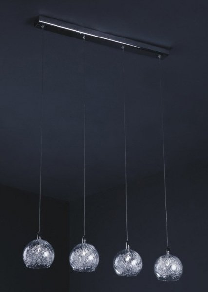 Lampa wisząca,żyrandol Italux Selmo P0220-04H-B5QL