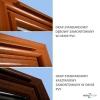Nawiewnik higrosterowany EXR + łącznik akustyczny + okap standardowy - 4 kolory