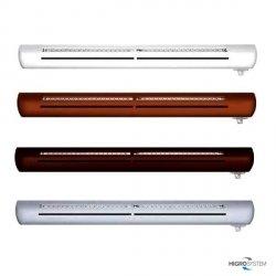 Nawiewnik higrosterowany EXR + podkładka montażowa + okap standardowy - 4 kolory
