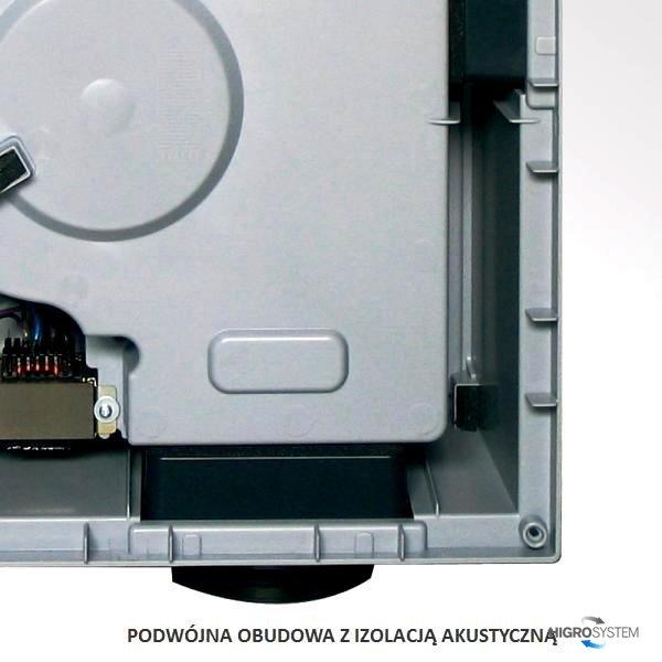 Wentylator akustyczny Aereco - V4A - 4 pomieszczenia