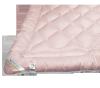Kołdra wełniana, wełna Inter-Widex 135x200 wz. różowy