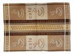 Ścierka Czapla(ŻAKARD) 50x70 cappucino