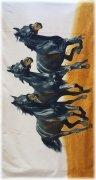 Ręcznik plażowy Konie 3  - rozmiar 70x148