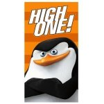 Ręcznik plażowy Pingwiny z Madagaskaru no 01- rozmiar 70x140