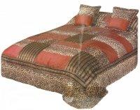 Narzuta na łóżko 240x260 + 2 poszewki 40x40 wz. Wiktoria 10