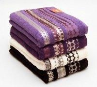 Ręczniki Silver - rozmiar 70x140 wz. Indigo