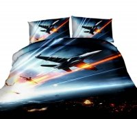 Pościel Kosmos Mikrowłókno 3D Premium roz. 160x200 lub 140x200 wz. FPP42