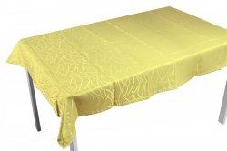 Obrus plamoodporny Jedeka 130x160 prostokat Kolor: żółty